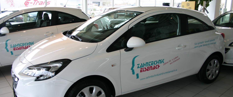 Zahntechnik Eisenach Fuhrpark